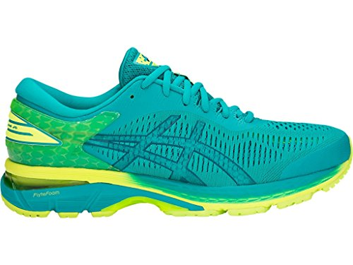 Gel-Kayano 25 Men's Running Shoe, Lagoon/Deep Aqua, 8.5 D(M) US
