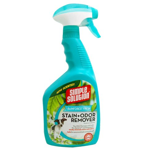 Simple Solutions Rainforest Fresh Stain and Odor Remover, 32-Ounce Spray, My Pet Supplies