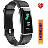 ZURURU Waterproof Fitness Tracker, Color Screen Sport Smart Watch with Calorie, Step& Distance Counter, Pedometer, Sleep &Heart Rate Monitor, Activity Tracker for Smart Phones Gift.