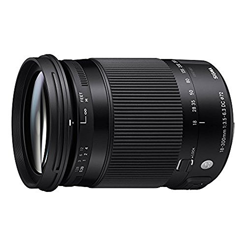 Sigma 18-300mm F3.5-6.3 Contemporary DC Macro OS HSM Lens for Nikon by Sigma