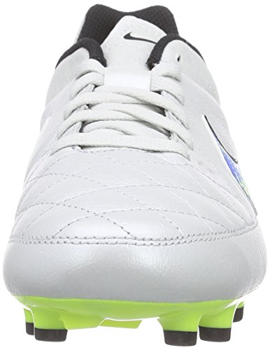 White Ground Football 174 volt soar Unisex White Kids' Boots Leather Nike Tiempo Genio Firm black IxwRnTvq