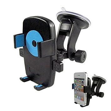 COOLCASE coche teléfono/GPS/PAD Soporte Soporte plegable ancho para su coche parabrisas o el salpicadero: Amazon.es: Electrónica