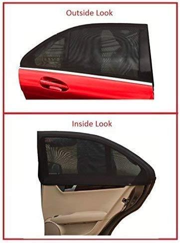Facile da installare Parasole per Auto per Neonati e Animali Domestici Doppio Tessuto per la Massima Protezione dai Raggi UV per finestrino Laterale Posteriore Confezione da 2 ROLLIN
