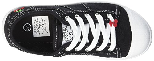 des Top Hi Black Sneakers Temps Cerises Le Unisex Lc 02 Basic Black Kids' 4TUWwq