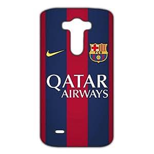 FC Barcelona Logo Phone Case for LG G3 3D Black Slip On Cover