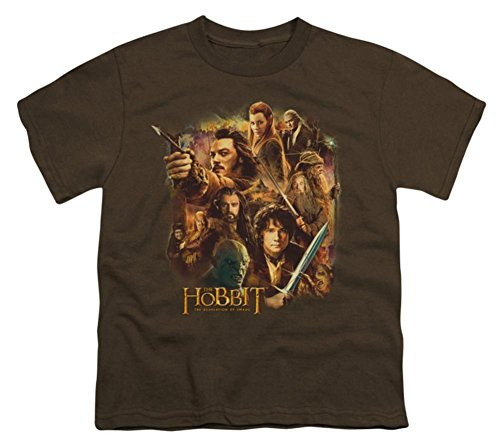 Youth: The Hobbit: The Desolation of Smaug - Middle Earth Group Kids T-Shirt Size YM