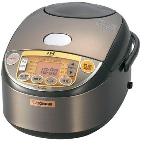 ZOJIRUSHI IH Rice Cooker NP VD10 TA Japan Import