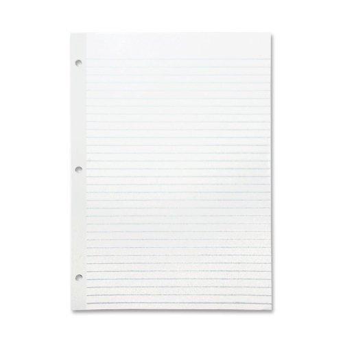 Sparco Mylar verstärkt Filler Papier – 100 Blatt – 20 Lb – breit liniert – Brief 8,50 x 11–100 Pack – Weiß Paper by Sparco