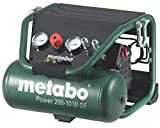 Metabo Power 250 – 10 W of Compressor – 2 CV 10 Litres without Oil, Special Construction