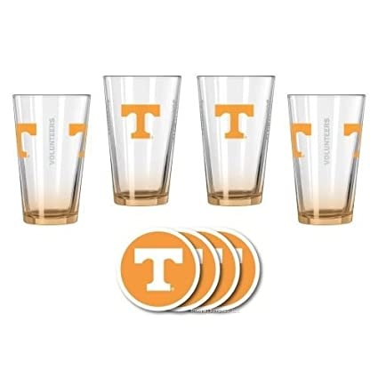 Tennessee Volunteers Official NCAA Pilsner Glass by Duck House