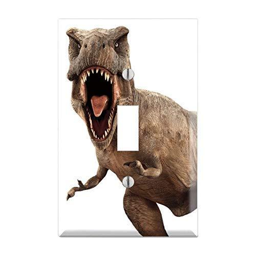 Tyrannosaurus rex Switch Cover, T-Rex Switch Plate, Dinosaur Plate Cover, Dinosaurs Nursery Light Switch, Jurassic Park Decor, Dino TF35