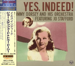 Jo Stafford Tommy Dorsey Yes Indeed Amazon Com Music