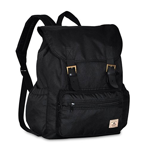 Everest Stylish Rucksack, Black
