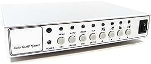 Cablematic-Sistema Quad CCTV 4-canal de vídeo