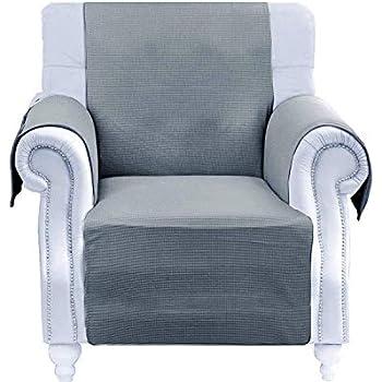 Amazon Com Yemyhom 100 Non Slip Chair Slipcovers Anti