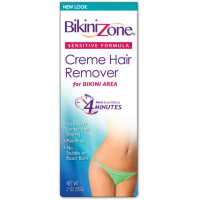 Bikini Zone Creme Hair Reomer Sensitive Bikini Area, 2 Oz (2 Pack)