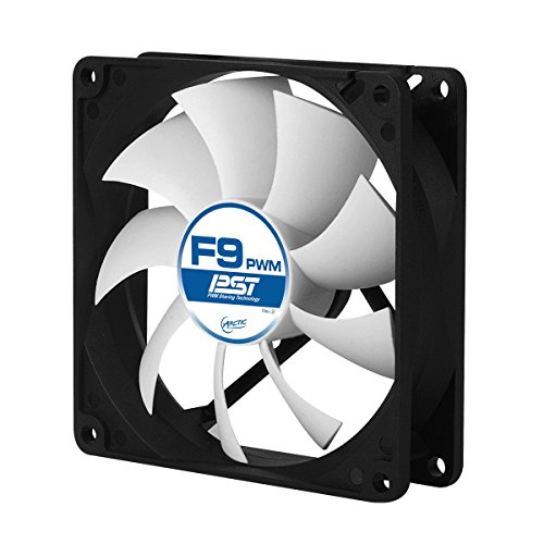ARCTIC F9 PWM PST - Standard Low Noise PWM Controlled Case Fan with PST Feature