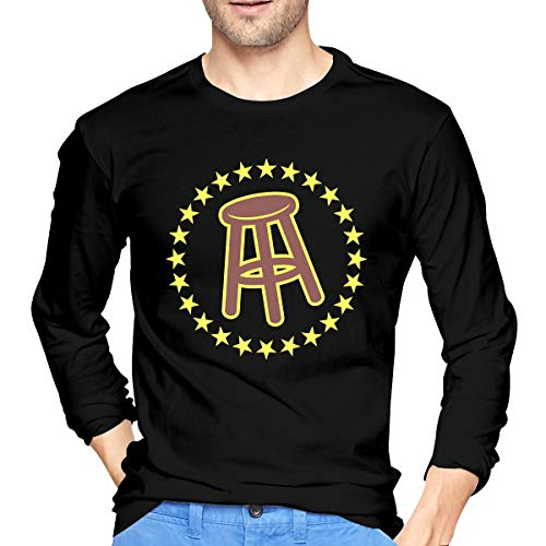 Lyttle-Tshirt Barstool Sports Generic Men's Black Long Sleeve T Shirts-Fashion