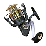"""Zebco/Quantum, Strategy Spinning Reel, Size: 60, 5.2:1 Gear Ratio, 38"""" Retrieve Rate, 8 Bearings, Ambidextrous, Clam"""