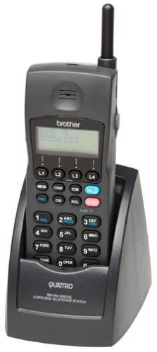 Brother CTS-400-CH 900 MHz Digital 4-Line Cordless Handset and Charger with Caller ID