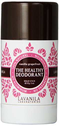Lavanila Vanilla Grapefruit The Healthy Deodorant, 2.0 oz (Perfume Womens Deodorant)