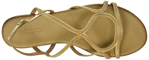 Bride Sandales Or gold 16779590 Cheville Inuovo 8537 Femme 74wRqR