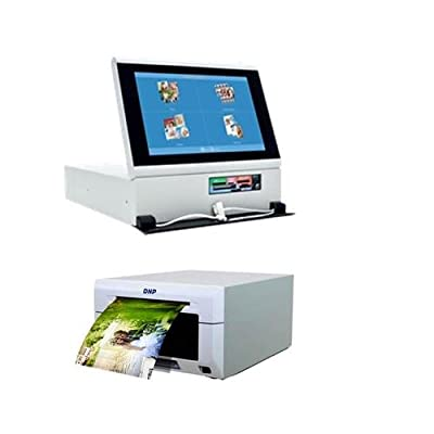 """DNP Photo DS-Tmini SnapLab 10.1"""" Touch Panel Order Terminal for DNP Printers - Bundle With DNP DS620A Dye Sub Professional Photo Printer, by DNP"""