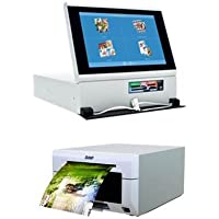 DNP Photo DS-Tmini SnapLab 10.1 Touch Panel Order Terminal for DNP Printers - Bundle With DNP DS620A Dye Sub Professional Photo Printer,
