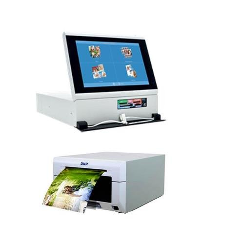 DNP DS-Tmini 10.1'' Kiosk Order Terminal - Bundle With DS620A Dye Sub Professional Photo Printer by DNP