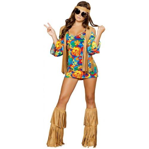 Sexy 70s Costumes (Roma Costume Women's Hippie Costume)
