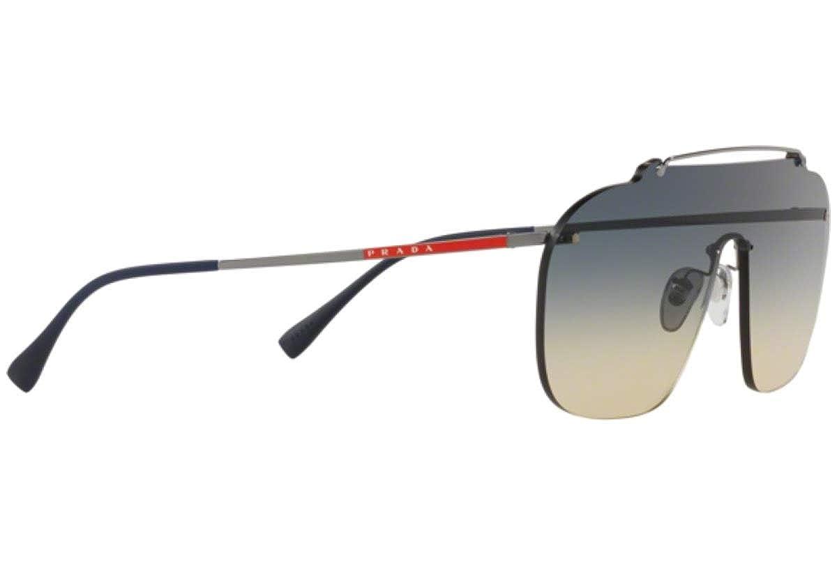 Amazon.com: Prada ps51ts anteojos de sol gris oscuro W ...