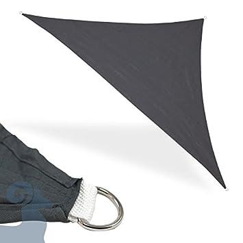 Sonnensegel Sonnendach Sonnenschutz Regenschutz Windschutz Sichtschutz Dreieck