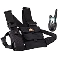 SetWear Radio Chest Pack (9x8.5) - Black