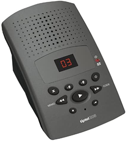Tiptel 205 Anthrazit Digitaler Anrufbeantworter Mit 15 Elektronik