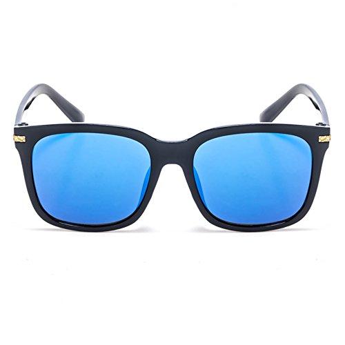 lunettes de soleil mesdames élégant nouveau marée féminine personnalisé star des lunettes de soleil lunettes visage rond korean les yeuxtransparent blue (envoyer de tissu) cKtt5nkp