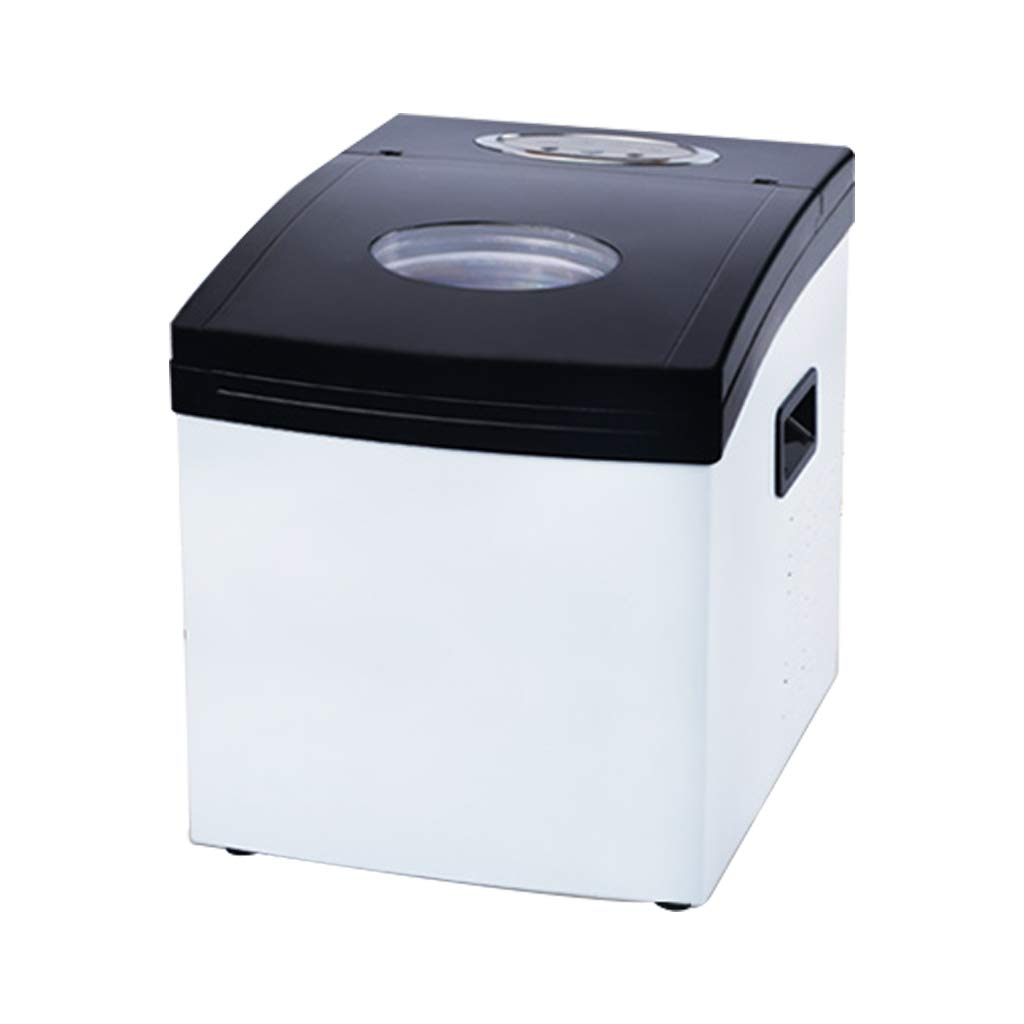 WHJ@ Freestanding Commercial Ice Maker Machine 25kg 2l Storage Capacity - Ideal for Restaurants, Bars, Homes And Offices