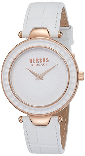 Versus by Versace Women's SQ1110015 SERTIE Analog Display Quartz White Watch
