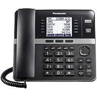 Panasonic KX-TGWA40B 4 líneas 6 vías conferencias ampliable hasta 10 teléfonos bloqueador de llamadas compatible con…