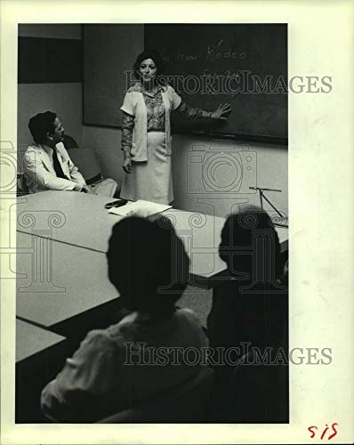 Vintage Photos 1982 Press Photo Mary Lee Shaw & M.D. Anderson Hospital Employees Gather in ()