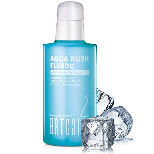 BRTC Aqua Rush Toner - Moisturizing Fluide Supplies Moisture to Dry Skin by Forming Rich Aqua Layer, Balance Care, Intensive Hydration, Nourishing, Revitalizing, Forming Dewy Skin (120mL / 4.06Fl.Oz) (Tony Moly Best Seller)