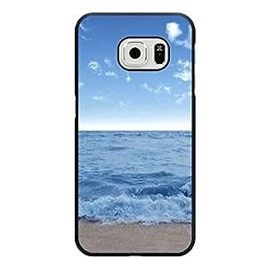 Samsung Galaxy S6 Edge Case,Fashion Beauty The Sea Scenery Printed Pattern Premium Quality Slim Hard Phone Case for Samsung Galaxy S6 Edge