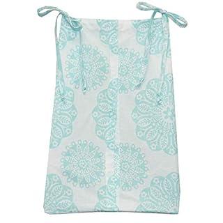 Sweet & Simple Aqua Blue Diaper Stacker
