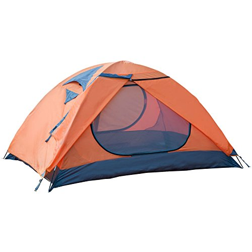 Winterial 2-Person Easy Setup Light Weight Camping and Backpacking 3 Season Tent / Compact