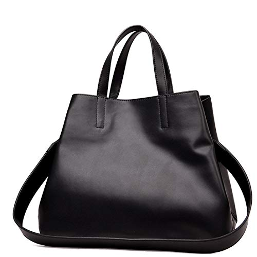 En Dames Red Pour Main Ovesuxle Wine À Sac Cuir Véritable color Black Bandoulière qtSOgSwH