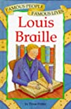 img - for Louis Braille (Famous People, Famous Lives) book / textbook / text book