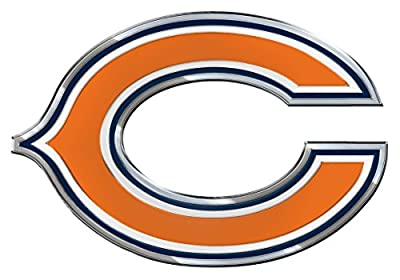 NFL Chicago Bears Die Cut Color Automobile Emblem