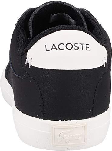119 Calzado master Negro Lacoste Court 3 xwq6E6Ya