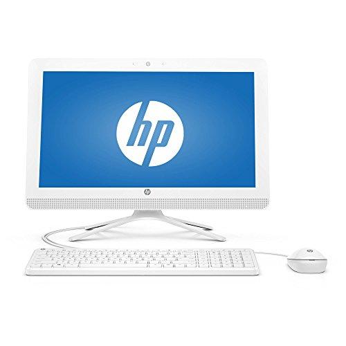 2017 NEW Flagship HP 20 Snow White 19.5″ HD+ All-in-One Business Desktop – Intel Quad-Core Pentium J3710, 4GB RAM, 500GB HDD 7200rpm, Ultra Slim DVD Burner, WLAN, Bluetooth, HDMI, Webcam, Windows 10