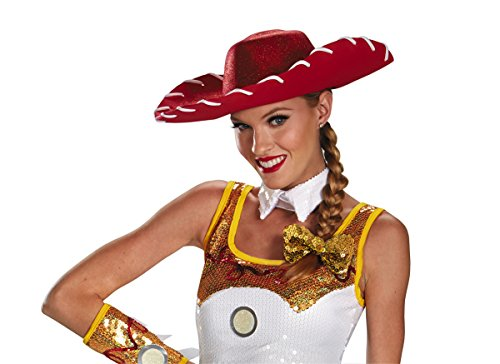Adult Toy Story Jessie Costumes (JESSIE GLAM COSTUME HAT & BOW SET)