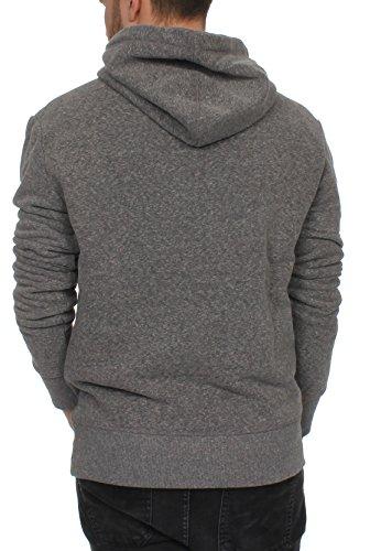 Superdry Herren Sweater MOUNTAINEER HOOD Cliff Face Grey Snowy